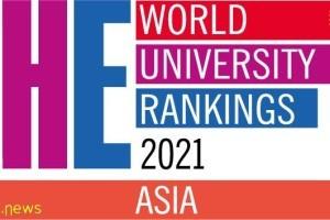 泰晤士2021亚洲大学排名公布,NUS第3,NTU第5