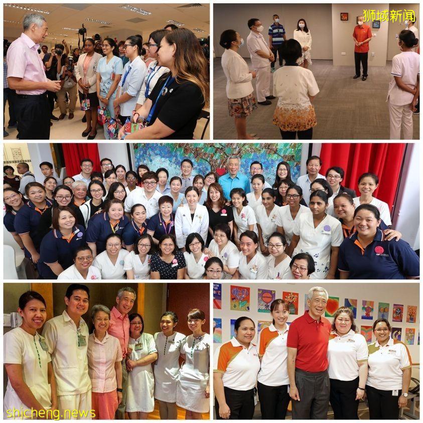 李显龙总理在国际护士节向护士无私的奉献致敬