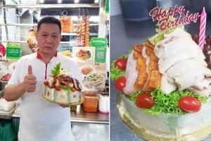 """希尔顿酒店前大厨转业开档口卖鸡饭,推出创新菜""""海南鸡饭蛋糕"""""""