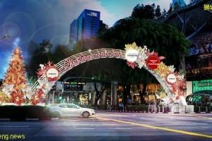 """新加坡乌节路圣诞季亮灯将于11月13日举行,""""花开圣诞""""缤纷绽放"""