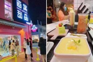 """Bugis出现一间新网红甜品店! """"酒窝甜品"""" 整栋粉红三层楼"""