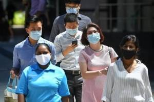 新加坡安娣拉口罩,大爷神消毒,网友感叹你大爷又上课了