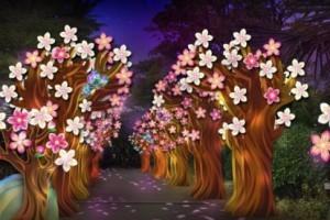 滨海湾花园庆中秋活动正式开启,每晚7点亮灯,为期2周,免费入场