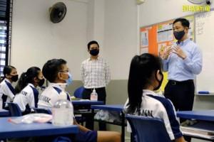 新加坡全面复课首日学生出席率高达96%,教育部公布新常态下四大工作重点