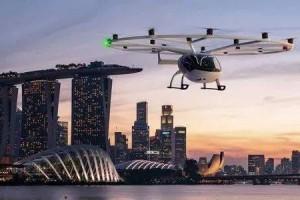Volocopter计划未来三年内在新加坡推出空中的士