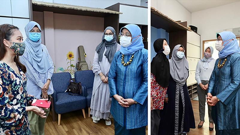 哈莉玛总统:疫情期间 国人需提高心理健康认知 增强心理韧性