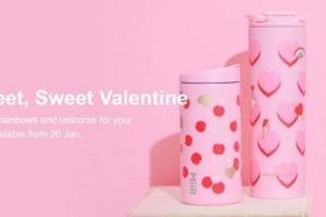 星巴克情人节限定上市!甜甜的粉色系,一眼就爱上!手慢无赶紧去买哇
