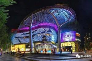 新加坡的乌节路是所有购物者的天堂