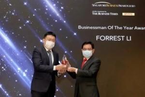 从租住HDB到新加坡富豪榜!这个中国新移民获得副总理颁奖