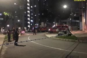 昨晚新加坡组屋起火,40人大疏散,房间物品化为灰烬