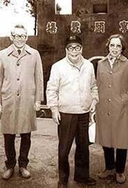蒋经国去世  李光耀痛哭