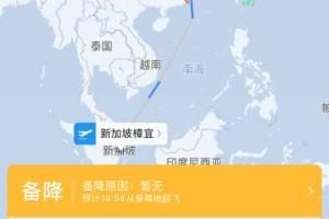 突发!新加坡飞北京航班备降广州,出什么大事了