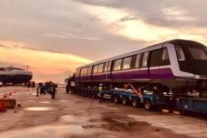 新的紫色地铁东北线从西班牙抵达,将会在2024年开始运营