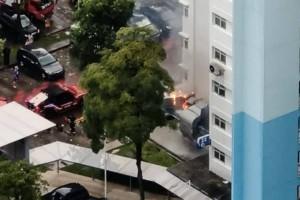 老字号酒楼厨房大火  20员工居民急逃