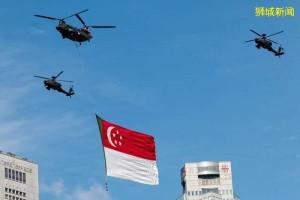 坦克、战斗机、伞兵出动!55年了,新加坡终于让全世界感动哭泣
