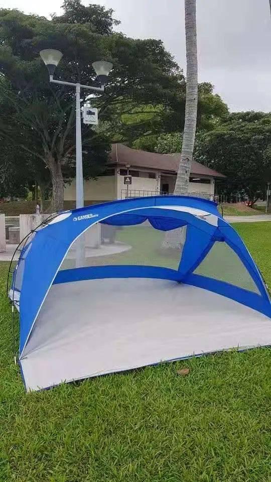 疫情出不去如何解闷儿,这个帐篷露营地可能适合你