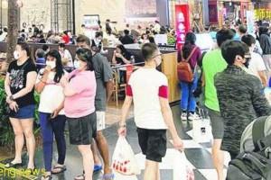 ◤新国CCB◢ 赶在禁令前外用餐  多餐馆大排长龙
