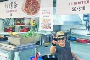 """生意失败破产 改卖菜头粿 """"狮城谢贤""""助有需者免费吃"""