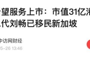 又一中国企业家被曝移民新加坡