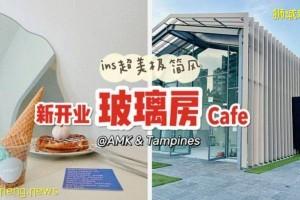 极简风格玻璃房café再添新店@Ang Mo Kio,绝美ins风格超好拍照!Tampines新店也要开业啦