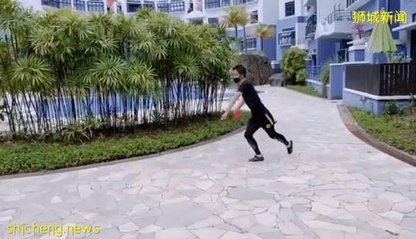 超燃!武术冠军在新加坡开武馆啦,孩子们兴奋到大叫,超爱他