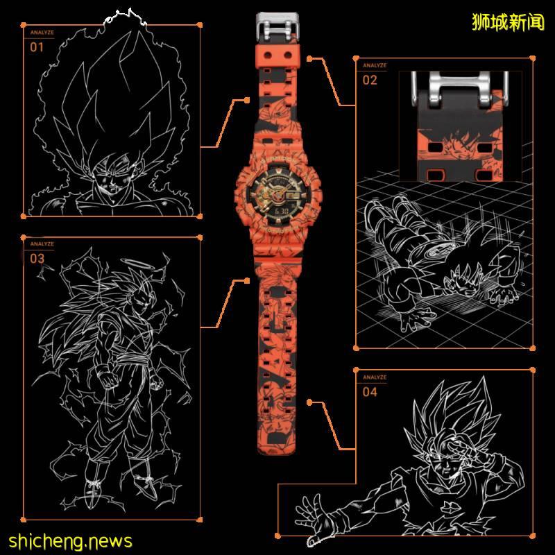 Casio与《海贼王》、《七龙珠Z》推出联名腕表