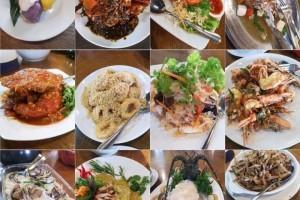 去吃新加坡最新鲜的海鲜!出海到海上奎笼吃海鲜!现捞现吃超美味