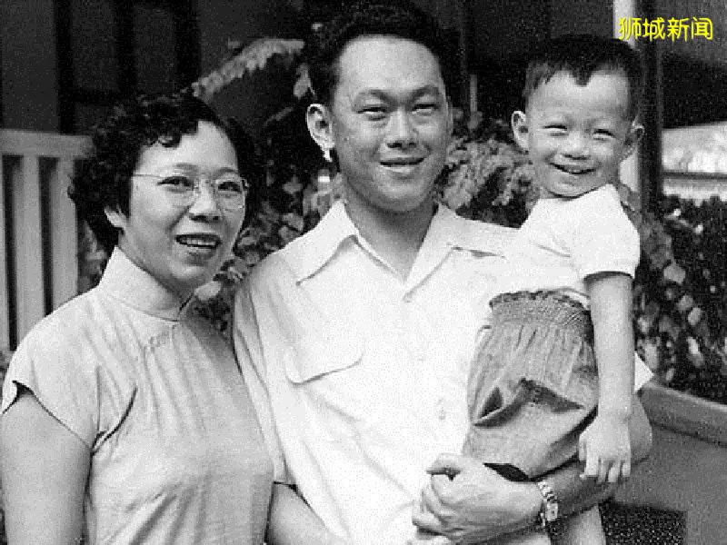 """新加坡的""""第一家庭"""""""