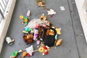外籍女佣、清洁工少了6成,新加坡社区走道垃圾多多多