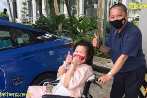 印尼癌妇滞留狮城治病 好心德士叔免费载送逾20次