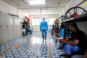 新加坡最大感染宿舍疫情近尾声!新加坡部长指出:战役还没结束