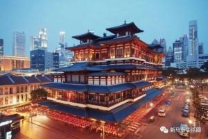 """新加坡虽小但也有""""唐人街""""!人称牛车水"""