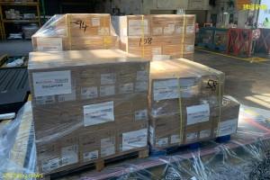 淡马锡第一批医疗用品援助 已抵达印度