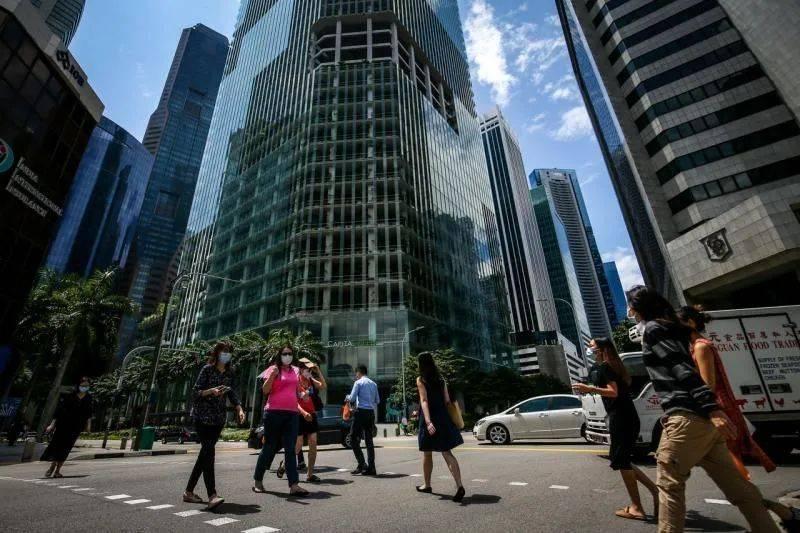 在新加坡透视论坛2021研讨会上,国务资政尚达曼谈及新加坡在后冠病时代的目标