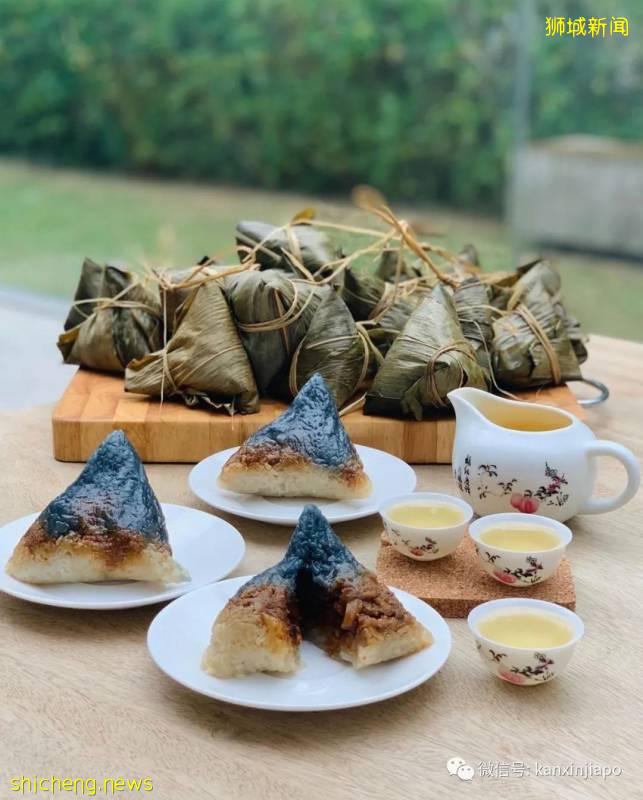 端午节即将来临,新加坡特色粽子美哭我了