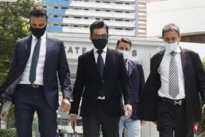 ◤新国阻断措施◢13人非法群聚庆生事件 曹国辉被控上庭