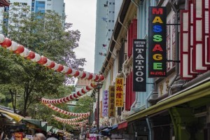 中国人到新加坡不得不去的地方,唐人街的车牛水