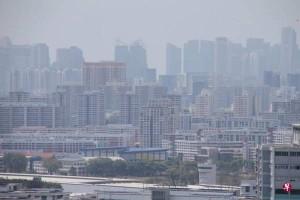 新山出现火点 烟霾飘向新加坡