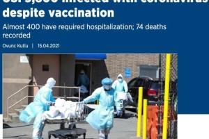 5800人打疫苗后仍感染!辉瑞总裁曝:或需第三剂疫苗,每年接种