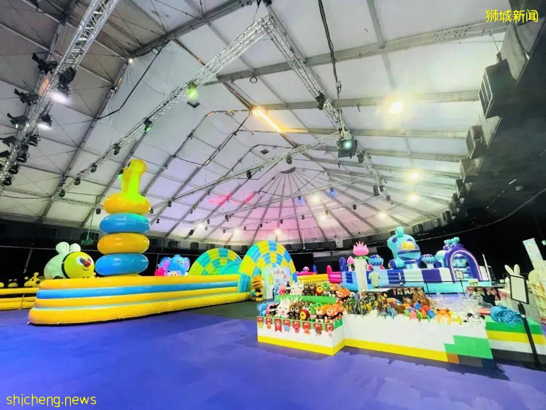送票!新加坡最新充气蹦床游乐场!超大!7大主题玩到不想回家