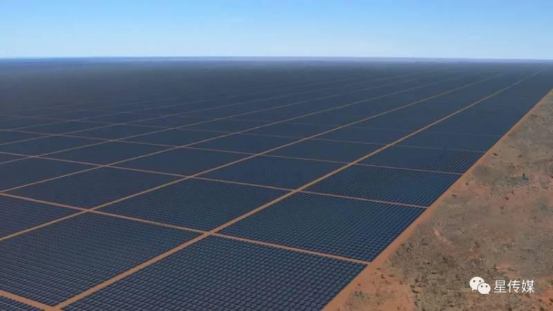 4年花200亿,新加坡将如何在澳大利亚,盖世界最大太阳能农场