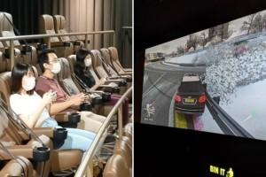 4个朋友包下Funan GV电影院,为了玩3小时Xbox游戏