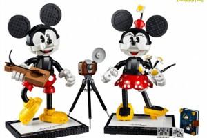 7月1日开售 Mickey & Minnie乐高套装,Disney迷别错过