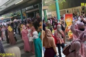 ◤狮城疫情◢各地涌现人潮群聚 新加坡开斋节 好热闹