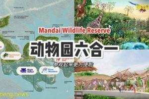 全新MANDAI野生动物园区,一站式游览动物园、鸟园、夜间动物园