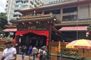 新加坡市中心,本地人和游客都喜欢去的,四马路观音堂