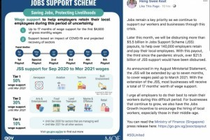新加坡又撒钱55亿新币帮助本地员工,外籍工作者:我们太难了