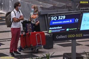 VTL计划扩大后  首趟航班从阿姆斯特丹抵新