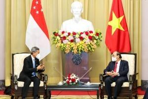 新加坡外长会晤越南领导人 加快互认健康证明安全复航