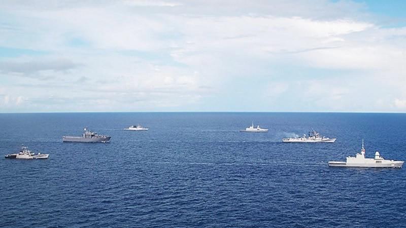 新印海军年度联合演习结束!两军未有肢体接触